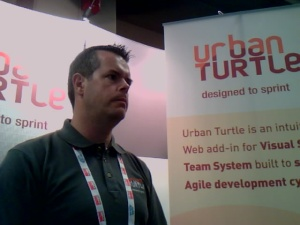 Urban Turtle Booth at Agile 2009